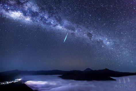 Luvia de meteoros