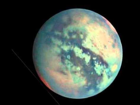 Titan. Satélite de Saturno