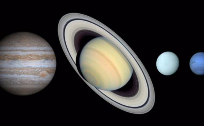 Los Planetas Jovianos