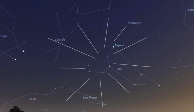 Lluvia de estrellas de las Leónidas