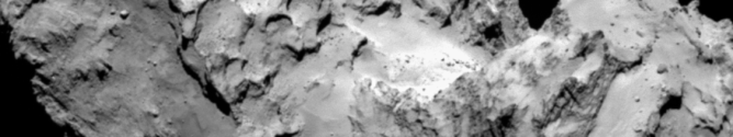 Cambio de la superficie de un cometa a su paso alrededor del Sol