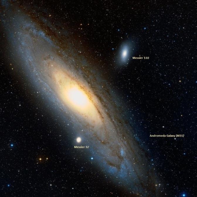 Objetos Messier observables en otoño