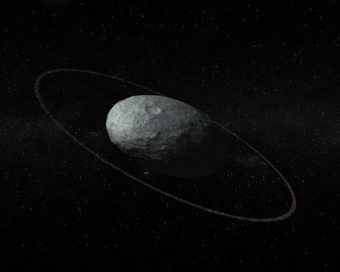Haumea, compañero de Plutón