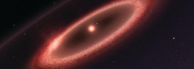Cinturón de polvo alrededor de Próxima Centauri