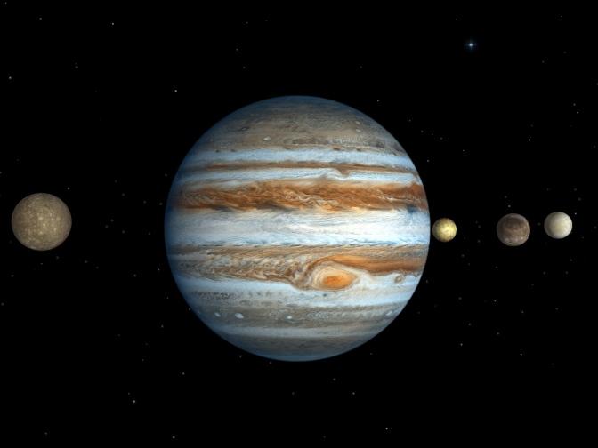 Jupiter el planeta más antiguo del Sistema Solar